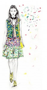fashion illustration Coach
