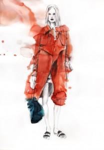 illustration-dessin-crayon-encre-runway