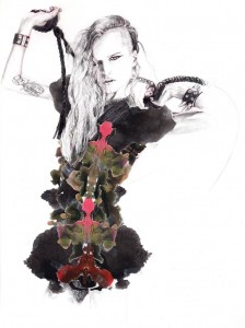 illustration Cut and Paste Alice Dellal