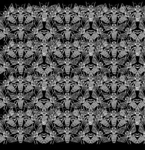 print design insecte